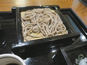 東京港区蕎麦店「竹泉」田舎そば