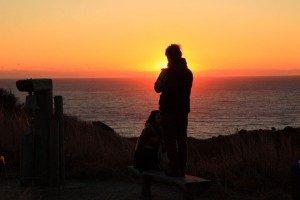 南伊豆 あいあい岬の夕日