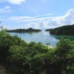 石垣島「川平湾」川平湾の遠景