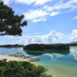 石垣島「川平湾」展望台からの風景