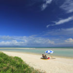竹富島「コンドイビーチ」青に染まる夏風景