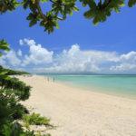 竹富島「コンドイビーチ」ビーチ端からの風景